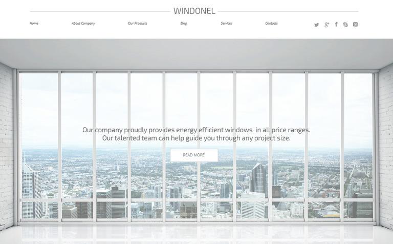 WordPress Theme #50739 für Fenster