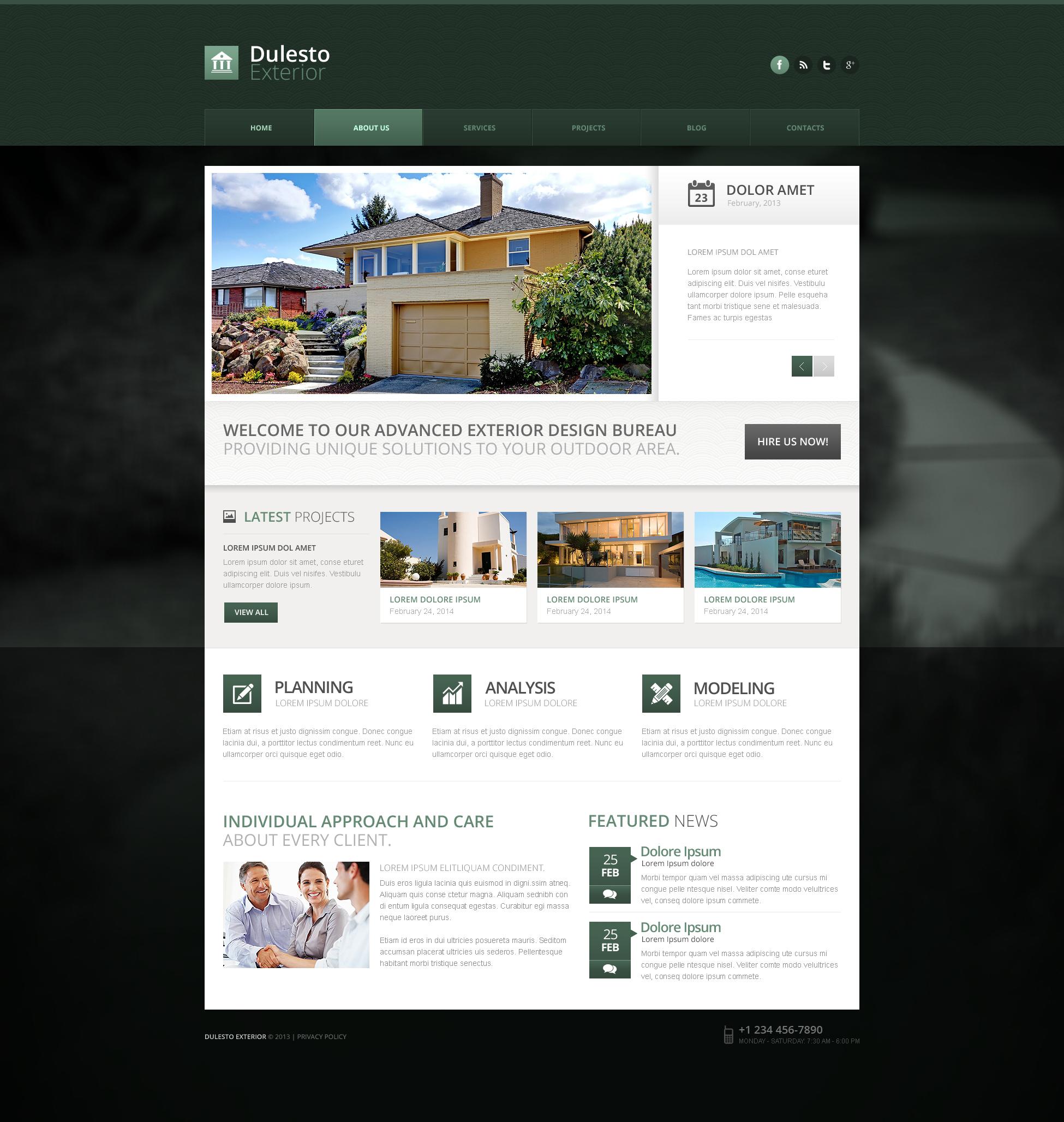 Template Drupal para Sites de Design externo №50790