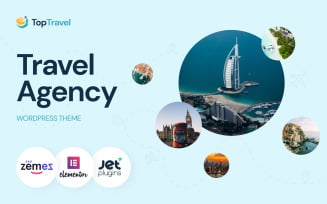 TopTravel - WordPress Theme Travel Agency Booking Template