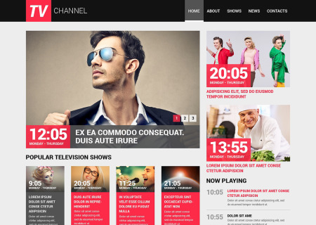 TV Channel Responsive