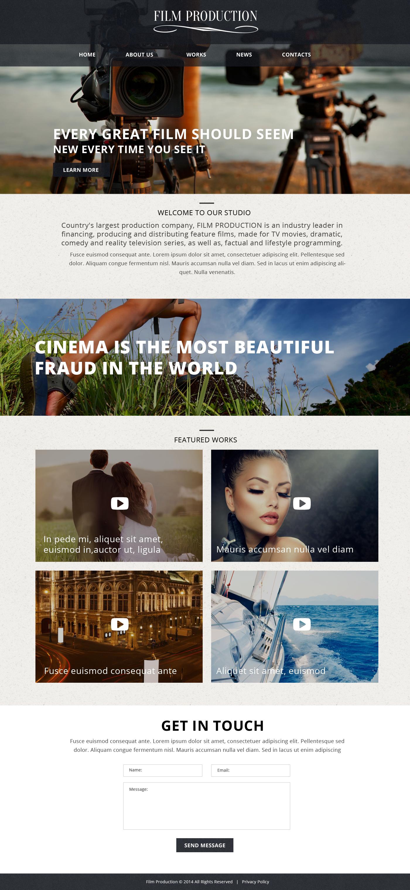 Video Lab Website Templates
