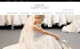 Wedding Store Magento Theme