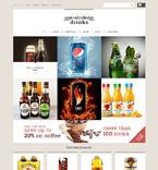 Food & Drink WooCommerce Template 50801
