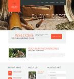 Sport WordPress Template 50805