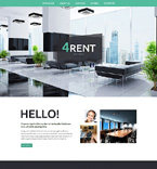 Real Estate Website  Template 50808