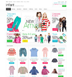 Fashion ZenCart  Template 50815