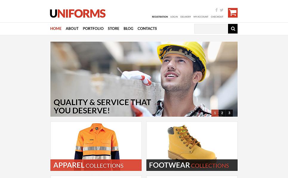 Tema WooCommerce Flexível para Sites de Ferramentas e Equipamentos №50816 New Screenshots BIG
