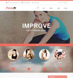 Sport Website  Template 50818
