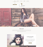 Fashion Website  Template 50821