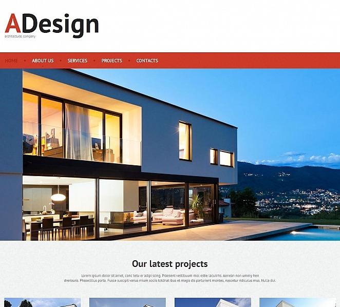 Modello Moto CMS HTML  #50825 per Un Sito di Società di Costruzioni New Screenshots BIG