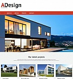 Architecture Moto CMS HTML  Template 50825