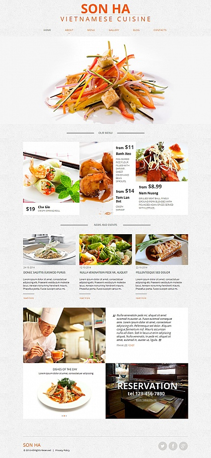 ADOBE Photoshop Template 50829 Home Page Screenshot