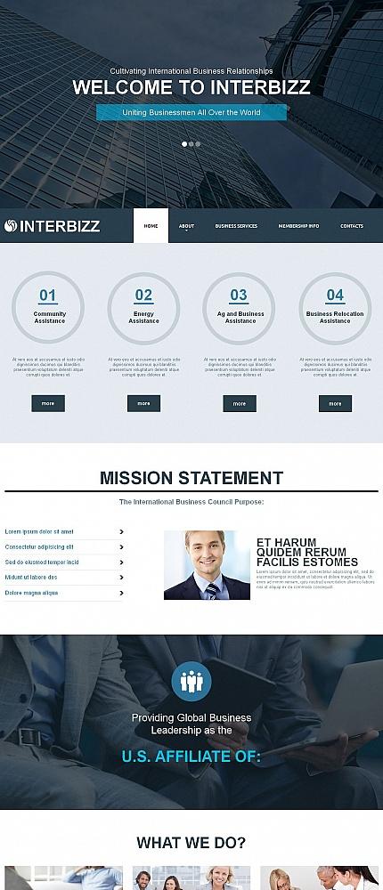 ADOBE Photoshop Template 50836 Home Page Screenshot