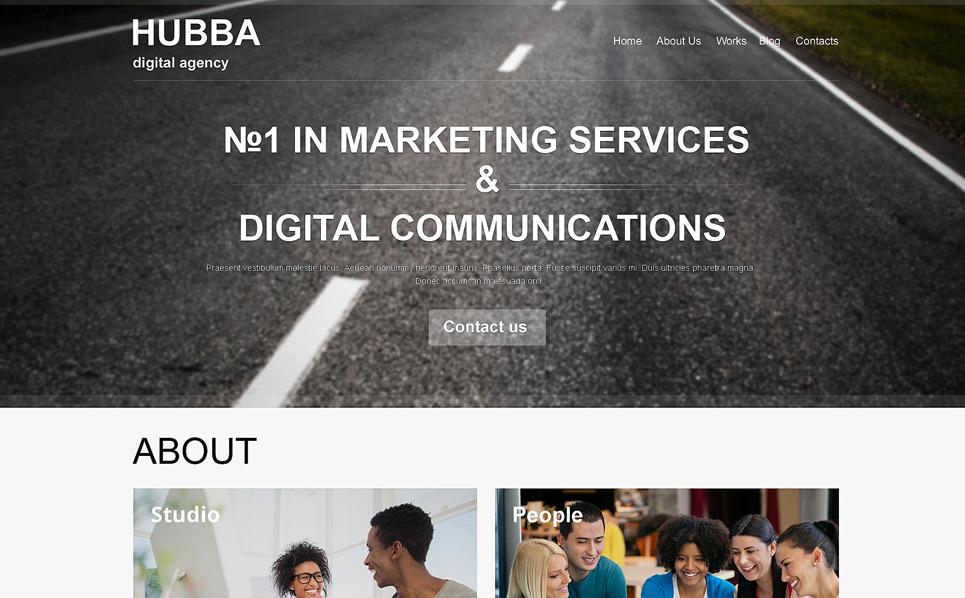 营销机构网站Muse 模板 New Screenshots BIG