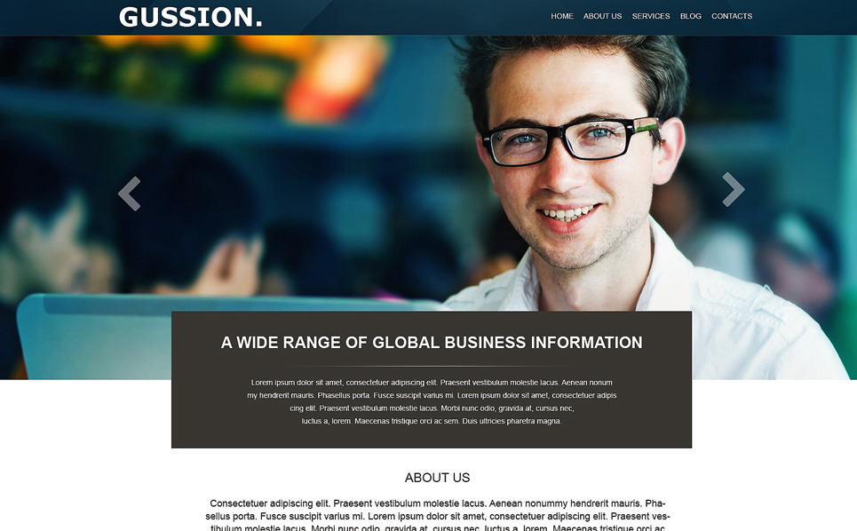 Muse Template over Business & Diensten New Screenshots BIG