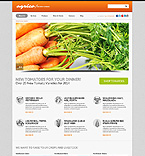 Agriculture WordPress Template 50863