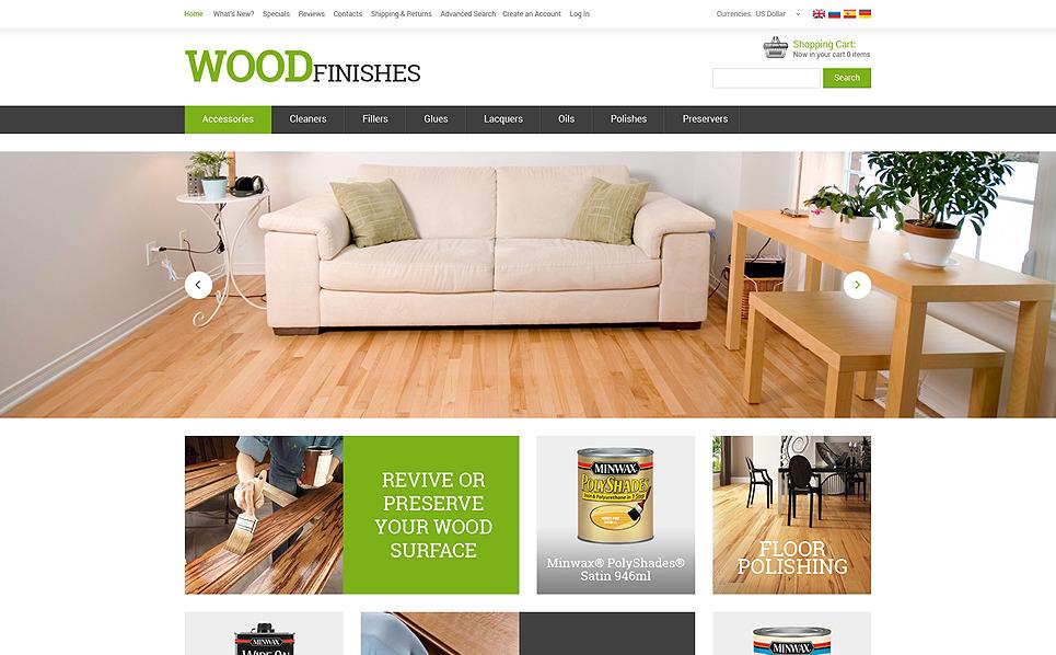 Modèle OsCommerce  pour site de revêtements de sol New Screenshots BIG