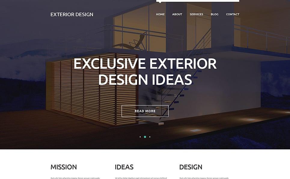 Responzivní WordPress motiv na téma Design exteriéru New Screenshots BIG