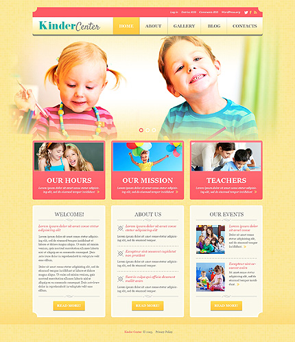 Website Template #50878