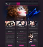 Entertainment WordPress Template 50879