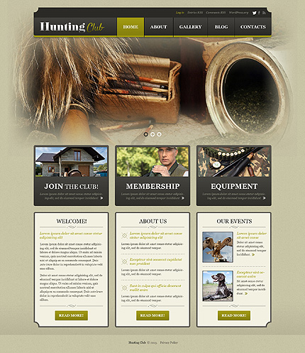 WordPress Theme/Template 50880 Main Page Screenshot