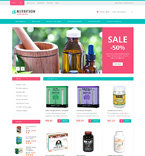 Medical Magento Template 50883