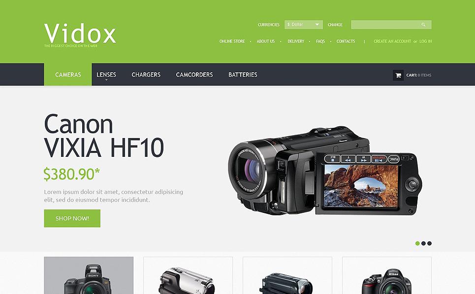 Template PSD  #50890 per Un Sito di Videoteca New Screenshots BIG