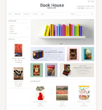 Books Magento Template 50899