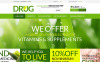 Drug Store PSD Template New Screenshots BIG