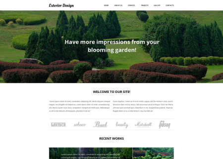 Garden Design Responsive