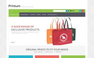 Harmonious Print Store PrestaShop Theme