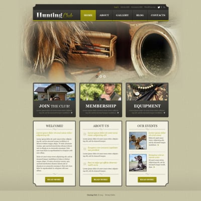 Vintage WordPress Themes | Retro WordPress Themes | TemplateMonster