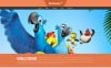 """Joomla шаблон """"Cartoons Land"""" New Screenshots BIG"""