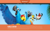 "Joomla Vorlage namens ""Cartoons Land"" New Screenshots BIG"