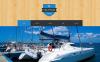 Modello WordPress Responsive #50885 per Un Sito di Yachting New Screenshots BIG