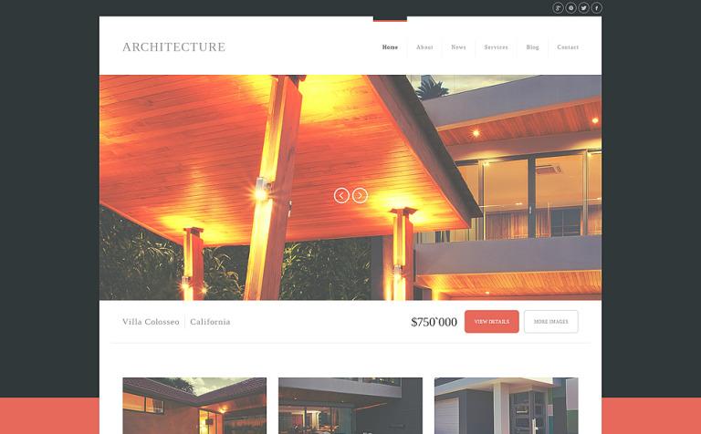 Modern Architecture Joomla Template