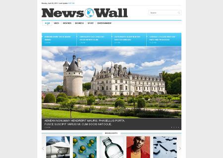 News Portal Responsive