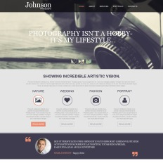Photography muse templates photographer portfolio parallax muse theme pronofoot35fo Images