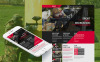 Prémium Paintball témakörű  Moto CMS HTML sablon New Screenshots BIG