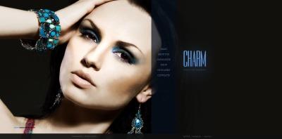 Szablon Moto CMS HTML #50855 na temat: biżuteria