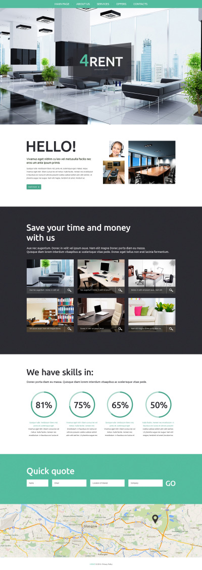Real Estate Agency Responsive Template Siti Web