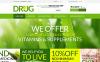 Template Photoshop  para Sites de Farmácia №50889 New Screenshots BIG