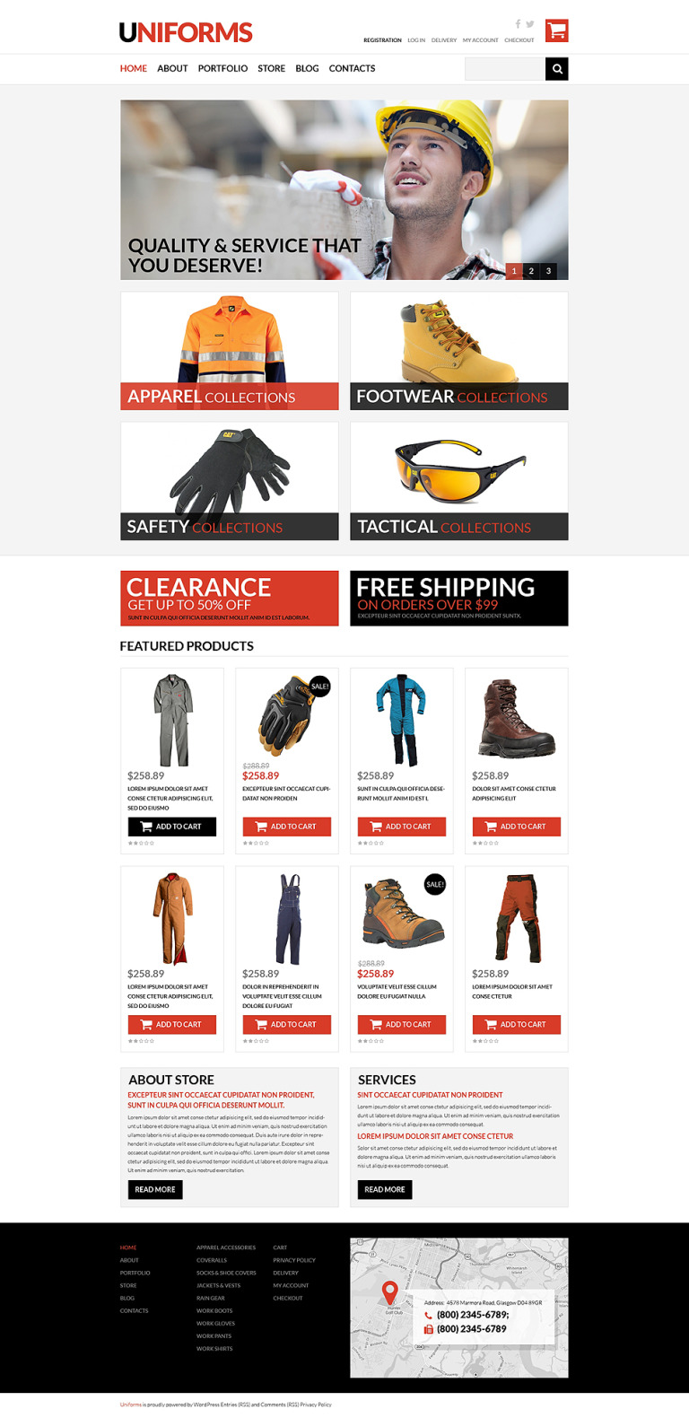 Working Clothes WooCommerce Theme New Screenshots BIG