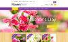 ZenCart шаблон №50876 на тему цветочный магазин New Screenshots BIG