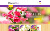"ZenCart Vorlage namens ""All Occasion Flowers"" New Screenshots BIG"