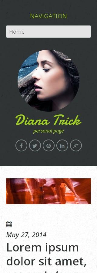 WordPress Theme/Template 50909 Main Page Screenshot