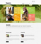 Animals & Pets Website  Template 50912