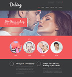 Dating Joomla  Template 50913