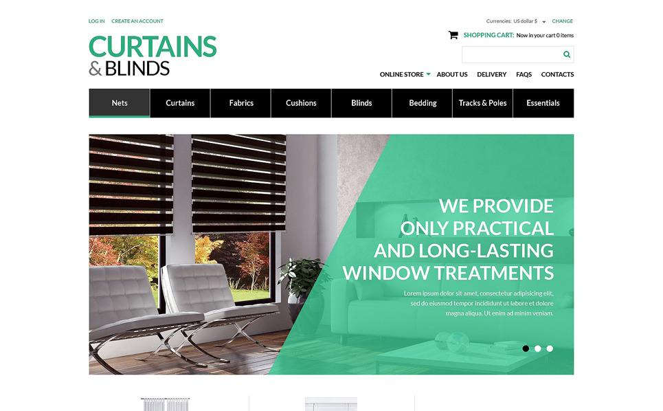 VirtueMart Vorlage für Fensterdekoration Homepage New Screenshots BIG
