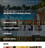 Hotels Joomla  Template 50927